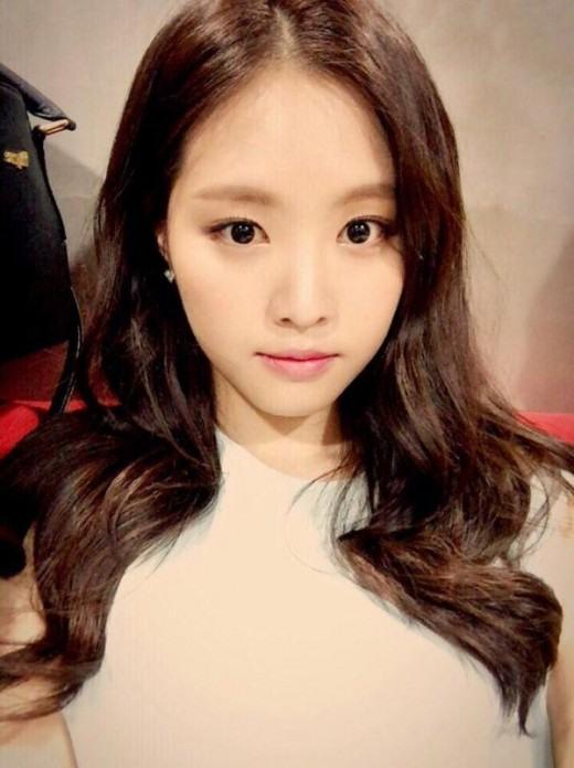 APink's Son Na-eun with flawless makeup